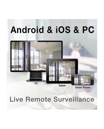 trendnet Rejestrator IP TV-NVR2208 obsługa 8 kamer 5MP