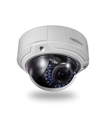 trendnet Kamera IP zewnętrzna TV-IP341PI 2MPX FHD PoE tryb nocny czujnik ruchu zoom cyfrowy 4X