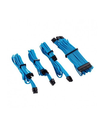 Corsair Power Supply Cable Premium Starter Kit Type 4 Gen 4, 8-piece - blue