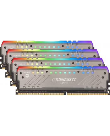 crucial Ballistix DDR4 32 GB 2666-CL16 - Quad-Kit - Tactical Tracer RGB