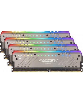 crucial Ballistix DDR4 32 GB 2666-CL16 - Quad-Kit - Tactical Tracer RGB
