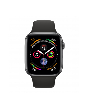 Apple Watch Series 4 - grey/black - 40mm, LTE - MTVD2FD/A