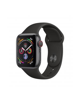 Apple Watch Series 4 - grey/black - 40mm, LTE - MTVD2FD/A