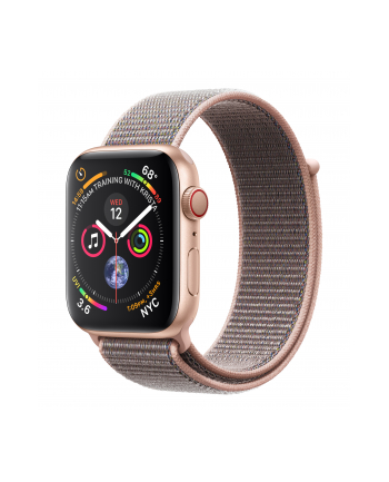 Apple Watch Series 4, Smartwatch - pink gold - LTE - MTVX2FD/A