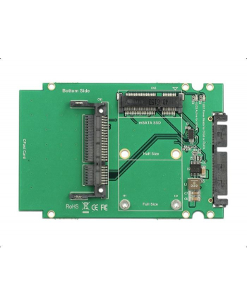 DeLOCK 2.5 SATA 22P Adapter> 1x mSATA- 1x CFast