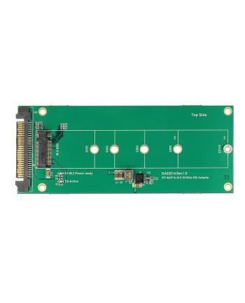 DeLOCK Adapter U.2 SFF 8639> 1x M.2