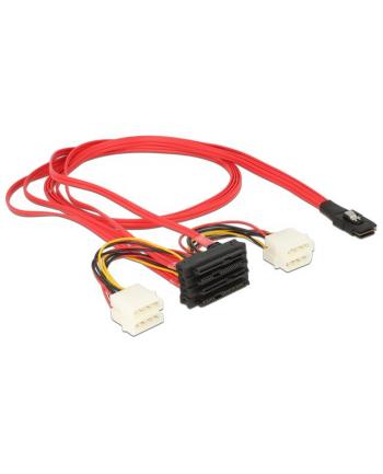 DeLOCK cable SFF-8087 -> 4x SAS 1m