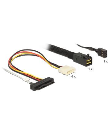 DeLOCK cable SFF-8643 -> 4x SAS 1m