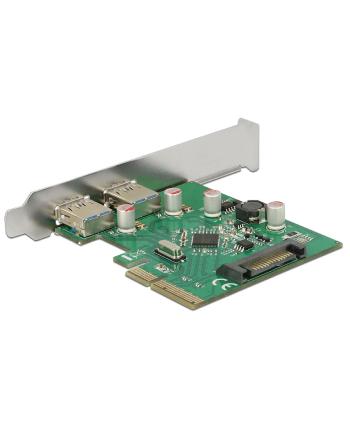 DeLOCK PCIe x4> 2x USB 3.1 Gen 2