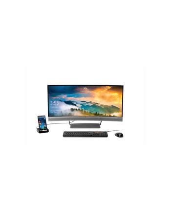 HP S340c - 34 -LED - black / silver, HDMI, DisplayPort, USB Type C