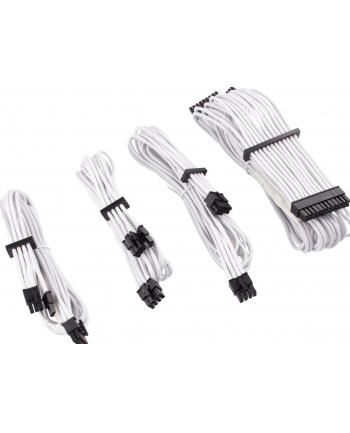 Corsair Power Supply Cable Premium Starter Kit Type 4 Gen 4, 8-piece - white