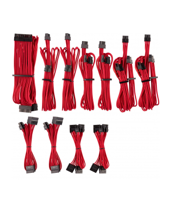 Corsair Power Supply Cable Premium Pro-Kit Type 4 Gen 4, 20-piece - red
