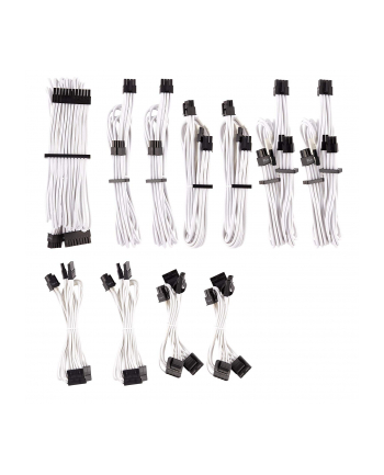 Corsair Power Supply Cable Premium Pro-Kit Type 4 Gen 4, 20-piece - white