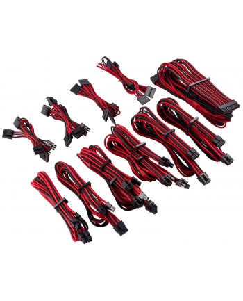 Corsair Power Supply Cable Premium Pro-Kit Type 4 Gen 4, 20-piece - red/black