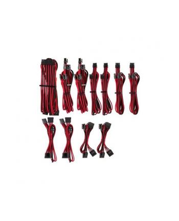 Corsair Power Supply Cable Premium Pro-Kit Type 4 Gen 4, 20-piece - red/black