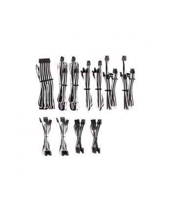 Corsair Power Supply Cable Premium Pro-Kit Type 4 Gen 4, 20-piece - white/black