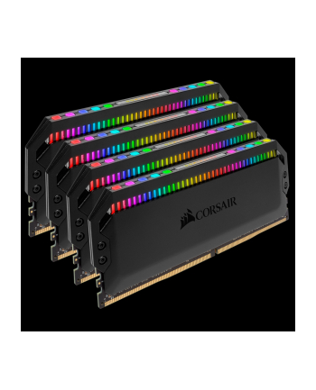 Corsair DDR4 32 GB 3200-CL16 - Quad-Kit - Dominator Platinum RGB Black