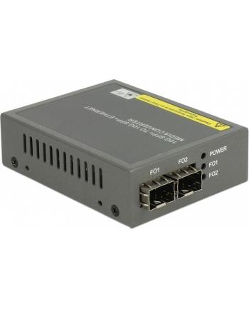 DeLOCK media converter 10 GB - Base-R SFP + to SFP +