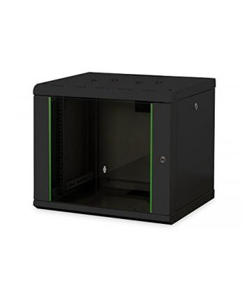 Digitus 19 - wall 509x600x450mm black 9HE - RAL9005