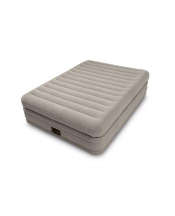 Duże łóżko dmuchane podwójna konstrukcja materaca wbudowana pompka 220-240V 64446 INTEX