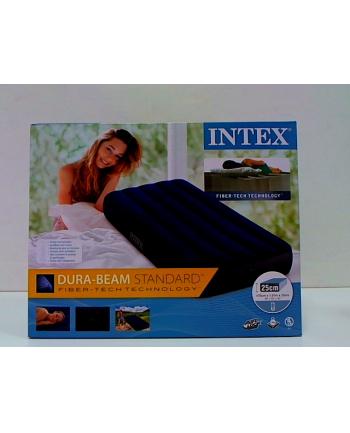 Wąskie łóżko dmuchane (zawór 2w1)  64756 INTEX