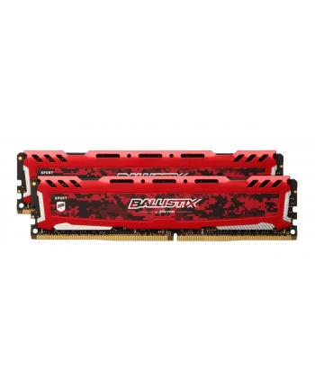 ballistix Pamięć DDR4 Sport LT 32GB/3000 (2*16GB)CL15 DR x8 Czerwony