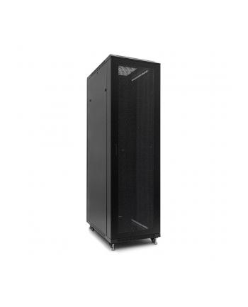Netrack szafa serwerowa stojąca 42U/600x1200mm (drzwi perforowane) czarny ZŁOŻON