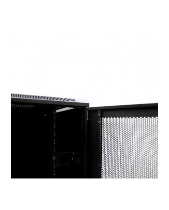 Netrack szafa serwerowa stojąca 42U/800x1200mm (drzwi perforowane)-czarny ZŁOŻON