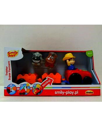 anek Traktor Super farma Smily Play 1304