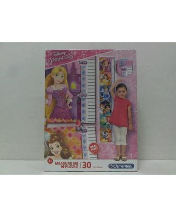 clementoni CLE puzzle 30 Measure Me Princess 20328