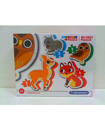 clementoni CLE moje pierwsze puzzle Forest Animals 20814