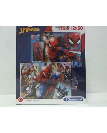 clementoni CLE puzzle 2x60 Spiderman 21608