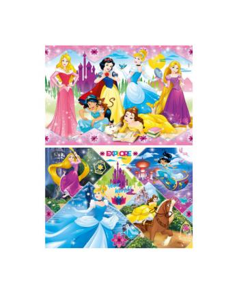 clementoni CLE puzzle 2x20 Princess 24751