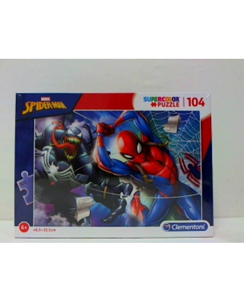 clementoni CLE puzzle 104 Spiderman 27117