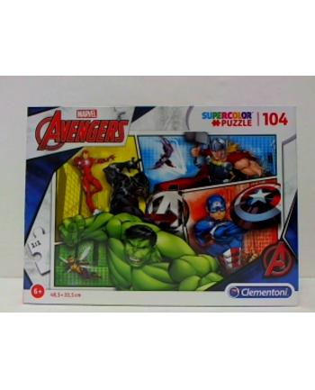 clementoni CLE puzzle 104 The Avengers 27284
