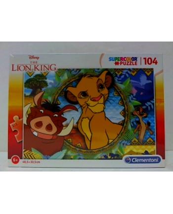 clementoni CLE puzzle 104 Lion King 27287