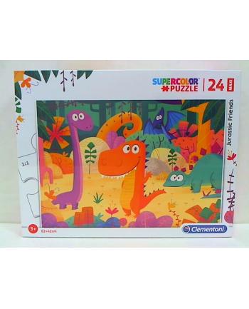 clementoni CLE puzzle 24 maxi Jurassic Friends 28506