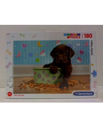 clementoni CLE puzzle 180 Lovely Puppy 29754