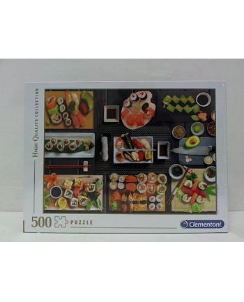 clementoni CLE puzzle 500 HQC Sushi 35064