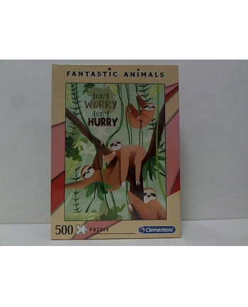 clementoni CLE puzzle 500 Fantastic Animals 3 35068