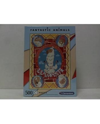 clementoni CLE puzzle 500 Fantastic Animals 4 35069