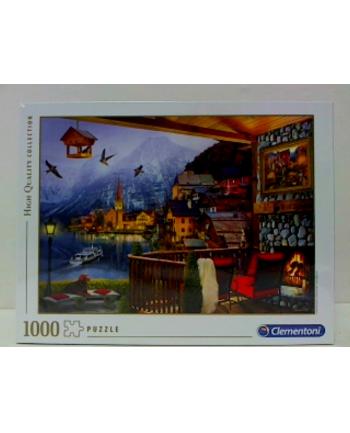 clementoni CLE puzzle 1000 HQC Hallstadt 39481