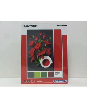 clementoni CLE puzzle 1000 Pantone Red Hibiscus 39494