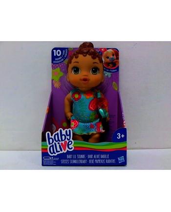 hasbro BABY ALIVE lalka brunetka z dźwiękami E3688 /2