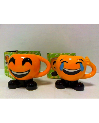 rozette Kubek ceramiczny Emoji nóżki 56477
