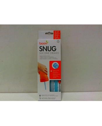 SKIP HOP Snug zestaw 6silik.słomek+czyś.12166