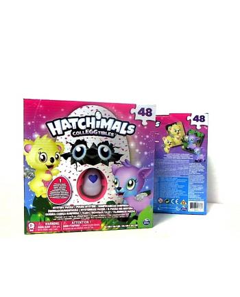 spin master SPIN Hatchimals: Puzzle 48 elementów 98470 6039460
