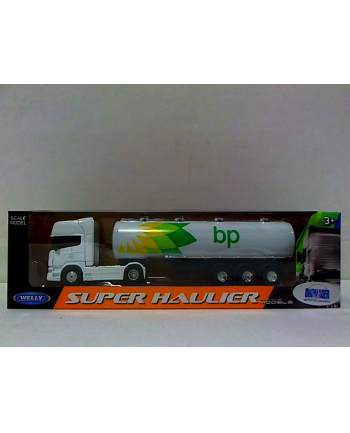 WELLY 1:64 truck Scania V8 R730 BP OIL 58022