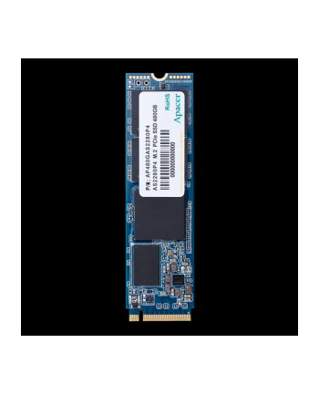 Apacer Dysk SSD AS2280P4 480GB M.2 PCIe Gen3 x4 NVMe, 3200/2000 MB/s