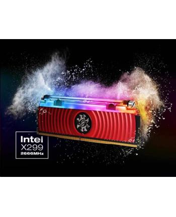 ADATA XPG SPECTRIX D80 DDR4 RGB, 2x16GB 3000Mhz, LIQUID COOL, CL16-18-18, Red